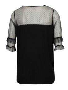 Černé těhotenské tričko Dorothy Perkins Maternity