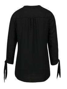 Černá halenka s tříčtvrtečním rukávem Dorothy Perkins Tall