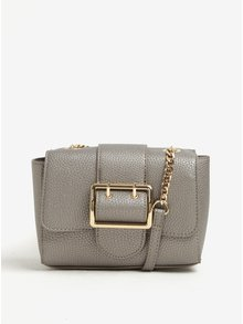 Malá crossbody kabelky ve stříbrné barvě Dorothy Perkins