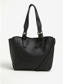 Geanta shopper neagra cu multiple compartimente - Dorothy Perkins