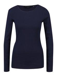 Bluza bleumarin cu maneci lungi Dorothy Perkins