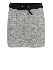 Sivá melírovaná dievčenská sukňa Blue Seven