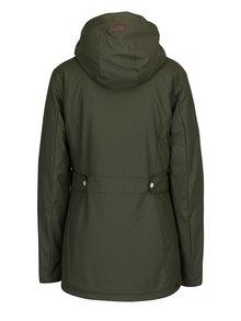 Kaki dámska zimná bunda s vreckami Ragwear Marge