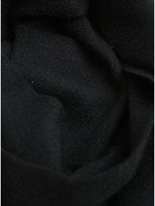 Čierny vlnený šál Selected Homme Tope