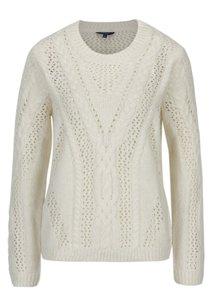 Krémový dámsky sveter s prímesou vlny Pepe Jeans Ramona