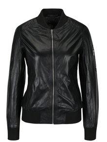 Černá dámská kožená bunda KARA Rodmi