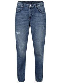 Modré dámské mom džíny s vysokým pasem Pepe Jeans Violet Twist