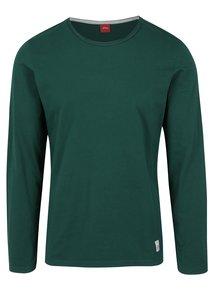 Bluza verde slim fit pentru barbati s.Oliver