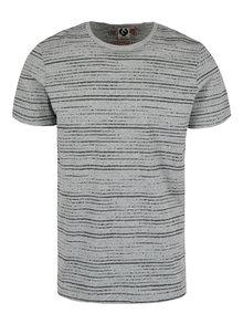 Šedé pánské pruhované tričko Ragwear Skywatch