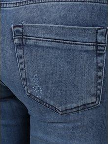 Modré zkrácené džíny Rich & Royal