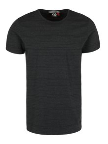 Čierne pánske pruhované tričko Ragwear Skywatch