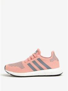 Světle růžové dámské tenisky adidas Originals Swift Run
