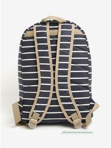 Bielo-modrý pruhovaný batoh Brakeburn