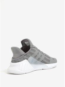 Sivé dámske perforované tenisky adidas Originals ClimaCool