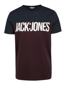 Tricou borrdo cu print Jack & Jones Char