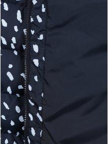 Modro-biela vzorovaná bunda adidas Originals Slim