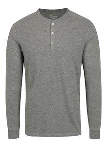 Bluza gri cu nasturi Jack & Jones Premium Melton