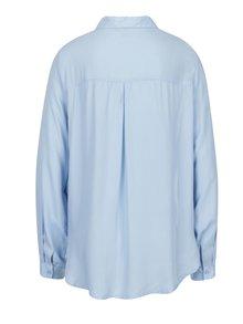 Svetlomodrá košeľa s náprsnými vreckami VERO MODA Koko