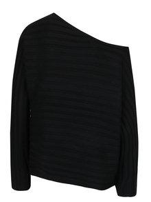 Pulover negru cu decupaj pe un umar VERO MODA Clearlake