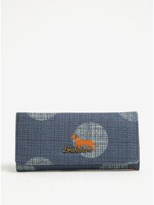 Tmavomodrá peňaženka s motívom psa Brakeburn