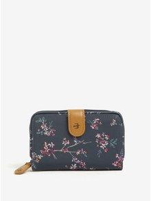 Tmavomodrá kvetovaná peňaženka Brakeburn