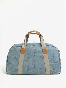 Modrá vzorovaná taška Brakeburn