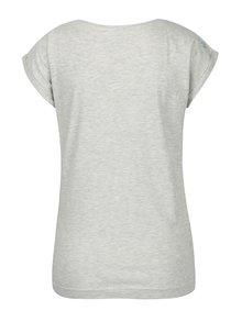 Šedé tričko s výšivkou Brakeburn