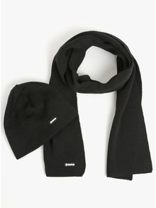 Set de caciula si fular din lana merino pentru barbati - Kama