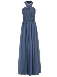 Rochie maxi albastra de inspiratie romana Chi Chi London Alessia