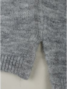 Sivý dámsky melírovaný sveter s prímesou vlny z alpaky s.Oliver