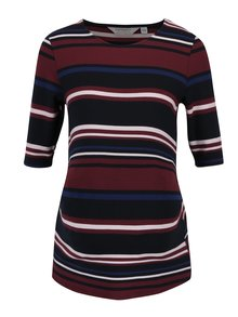 Bluza bordo & negru cu print pentru femei insarcinate Dorothy Perkins Maternity