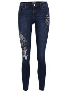 Modré džíny s výšivou Dorothy Perkins
