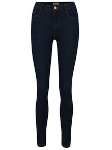 Modré džíny s vysokým pasem Dorothy Perkins