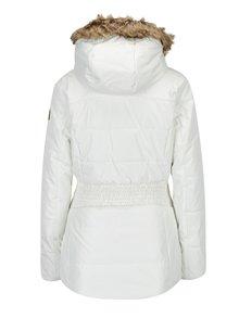 Krémová dámská lyžařská funkční voděodolná bunda LOAP Fabiana