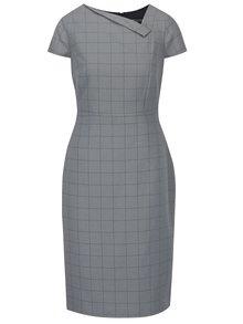 Světle šedé vzorované pouzdorvé šaty Dorothy Perkins