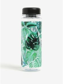 Sticla de apa fara BPA cu print cu frunze - Sass & Belle Botanical Jungle