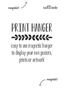 Decoratiune magnetica mica  -Sass & Belle Print