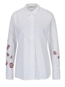 Bílá košile s potiskem Desigual Paris