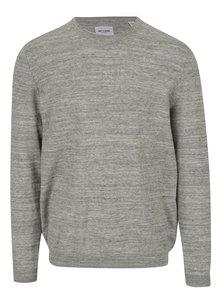 Béžovýžíhaný lehký svetr ONLY & SONS Alex