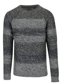 Pulover tricotat gri pentru barbati - ONLY & SONS Ollan