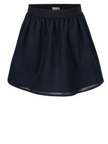 Tmavě modrá holčičí vzorovaná sukně name it Ibby
