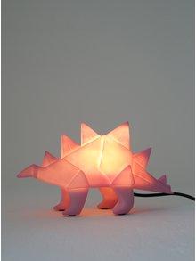 Lampa LED roz in forma de dinozaur origami - Disaster Dinosaur
