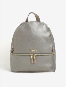 Kožený batoh ve stříbrné barvě Liberty by Gionni Lorraine