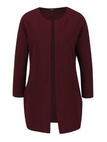 Cardigan lung bordo fara inchidere ONLY Leco