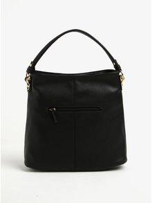 Čierna kabelka s detailmi v zlatej farbe Gionni Pia