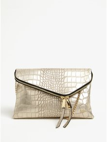 Metalická crossbody kabelka ve zlaté barvě Gionni Renia