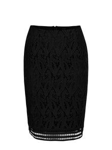 Čierna puzdrová čipková sukňa VERO MODA Exclusive