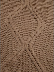 Béžový šál so vzorom Pieces Judih