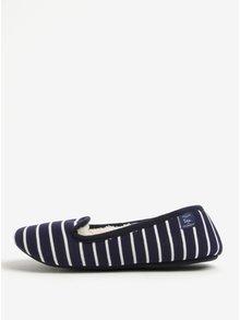 Tmavomodré pruhované papuče Tom Joule Dreama