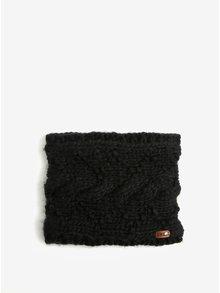 Černý dámský nákrčník Roxy Winter Collar